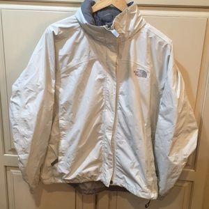 The North Face Hyvent rain shell jacket raincoat L